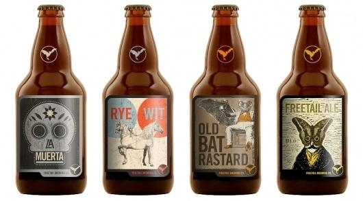 PTARMAK | design | austin, u.s.a. #mark #beer #branding #label #logo