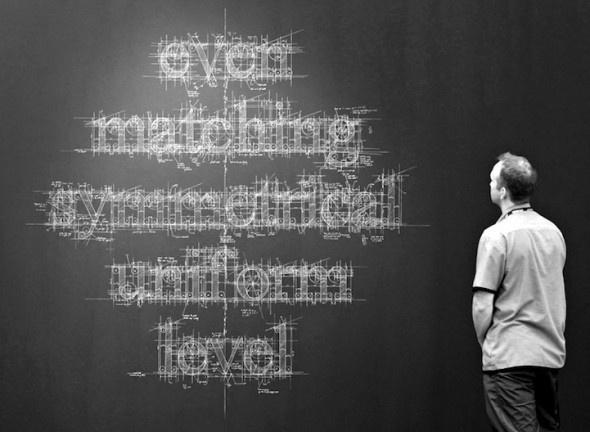 Detailed Chalk Type by Liz Collini   Creative Greed #collini #type #liz #chalk