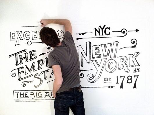 The Great Discontent: Dan Cassaro #cassaro #drawing #dan #typography