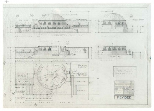 Architecture Photography: Blueprints of the Star Wars Galaxy - Blueprints of the Star Wars Galaxy (164036) - ArchDaily