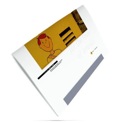 CREATIVE POPCORN: Presentation deck cover for Caution Children Playing. #branding