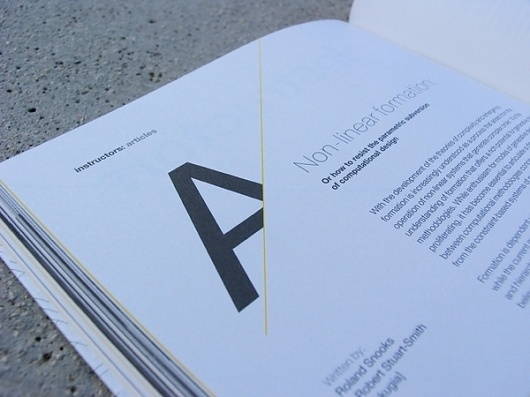apomechanes on the Behance Network #print #design #graphic #layout #typography