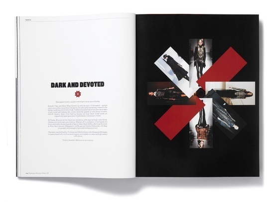 design by Matt Wiley #spread #layout #editorial #magazine