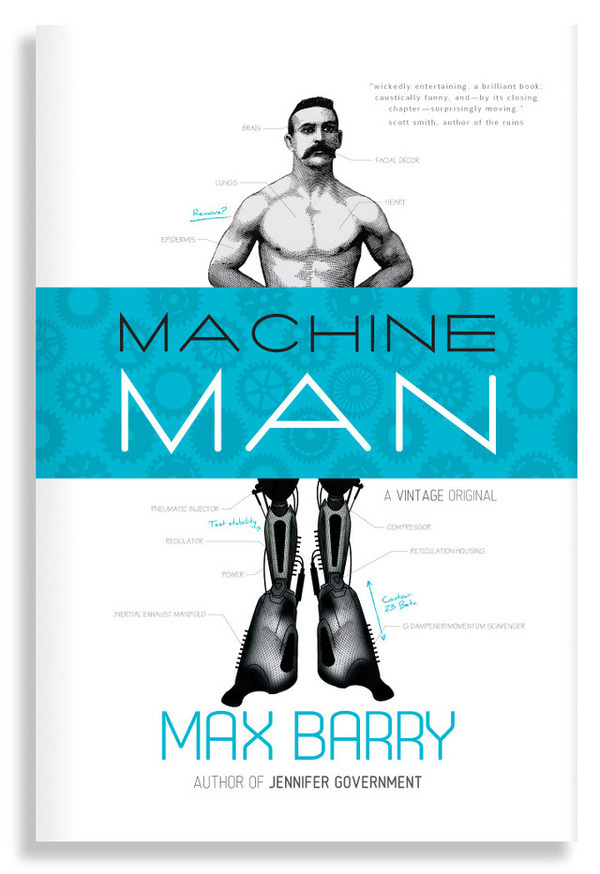 Machine Man #cover #book