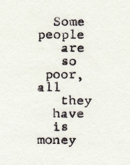 Best Poor People Quote Images On Designspiration