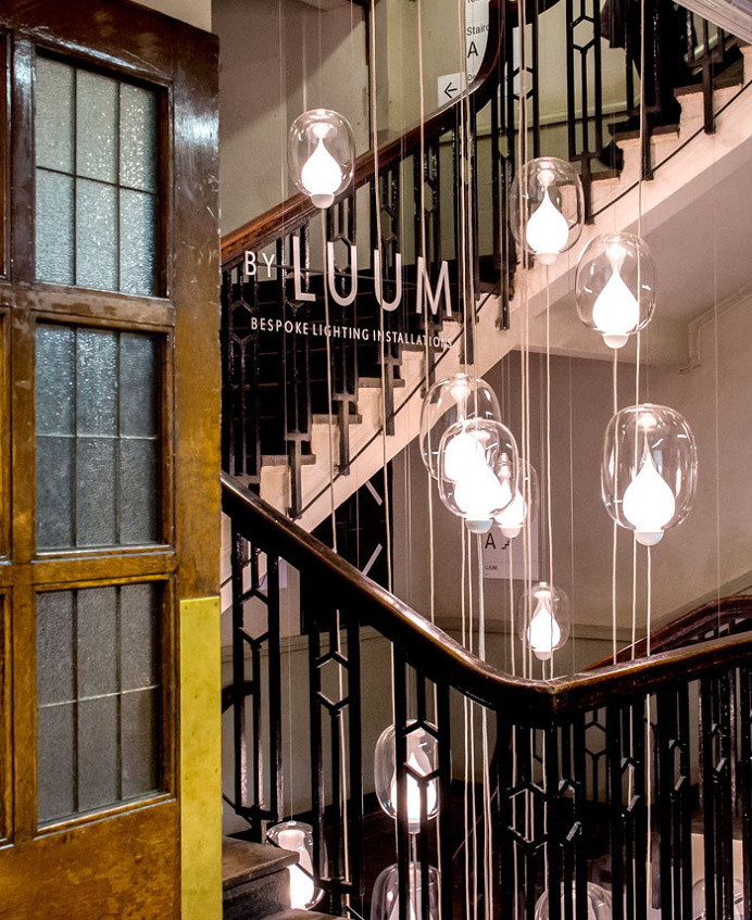 Luum Unveil Twenty Metre Installation of Flame at Design Junction 2015 - #lamp, #design, #lighting, lights, lighting design, #art