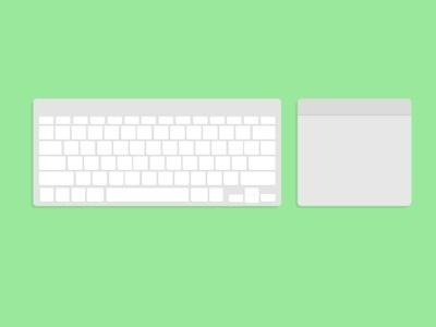 Keyboard + Trackpad #keyboard