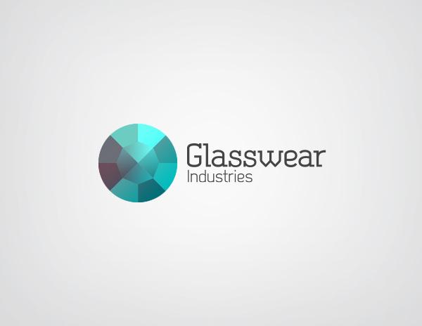 Glasswear Industries Identity on Behance #logotype