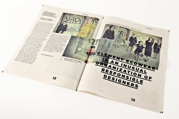 Tealer Brand - Newspaper Margarida Borges   MagSpreads   Magazine Layout Inspiration and Editorial Design #print #layout #design
