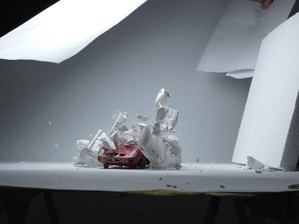 Exploded Cars by Fabian Oefner8 #explosion #car #art