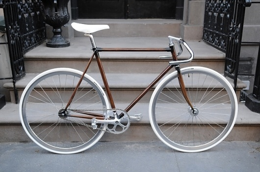 Hand Painted Woodgrain Bikes #bike
