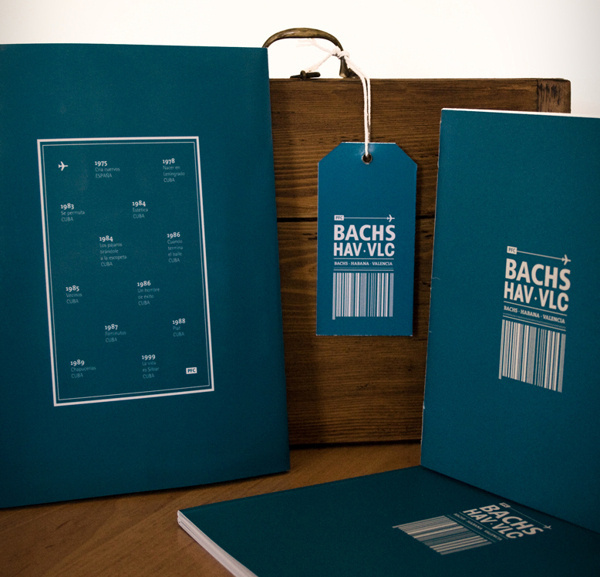 BACHS · HAV · VLC #packaging #book #desing #editorial #typography