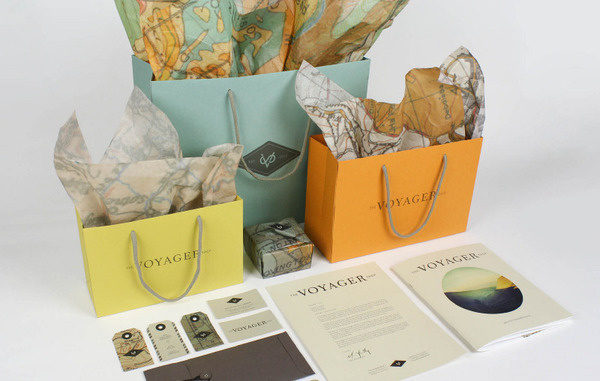 The Voyager Shop amberasay #business #card #print #box #bags #stationery #letterhead