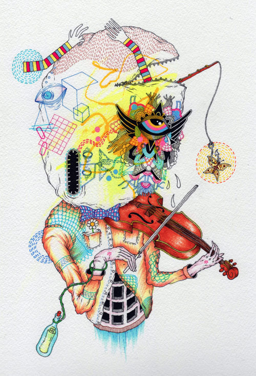 Artist Eugene Plotnikov #illustration #colors