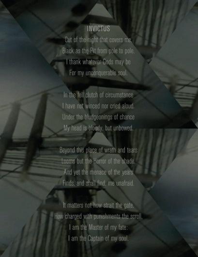 A Sweet Spirit #ocean #voyage #captain #fate #cubism #ship #invictus #sail