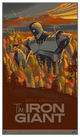 KlZuq.jpg (597×1024) #movie #giant #print #design #iron #poster