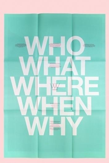 Studio Worldwide | Think.BigChief #poster #typography