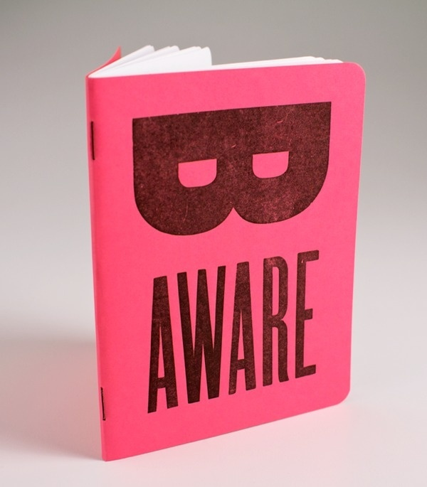 be aware mini journal