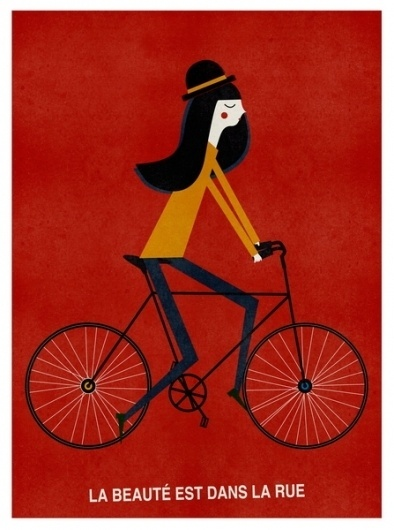 Main : Cosas mínimas #illustration #bike #poster