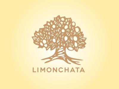 Limonchata #tree #illustration #logo #lemon #cello #wordmark