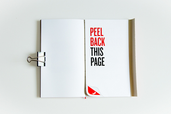 Heinz Annual Report #creative #peel #annual #back #report #layout #heinz