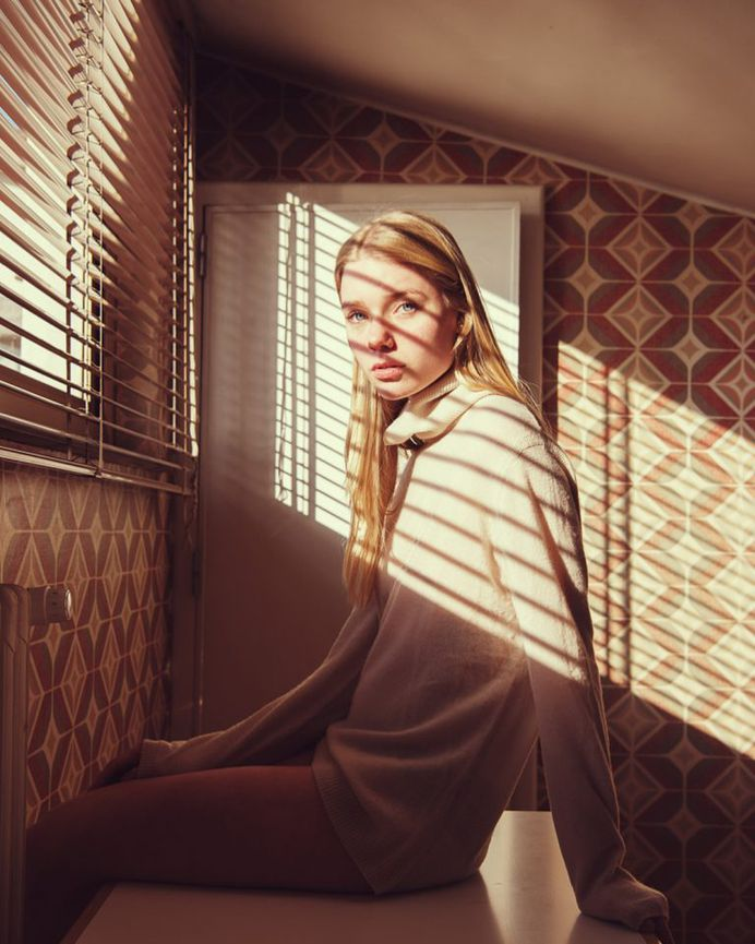 Ethereal and Atmospheric Female Portrait Photography by Alessio Albi