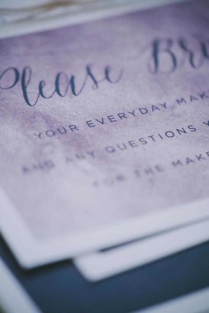 makeup-63 #wedding #invite #suite #invitation #stationery #purple #moody #paper