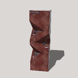Office Building wayfinding | Signage | Sign Design | Wayfinding | 创意立牌模型