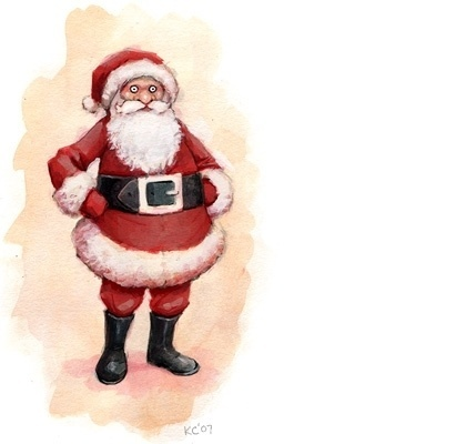 #illustration #clause #santa