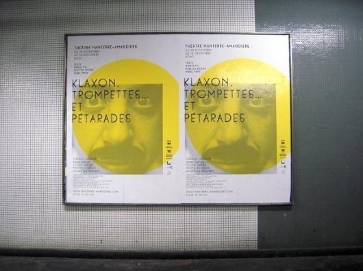 Pascal Béjean, Olivier Körner, Nicolas Ledoux - Nouveautés #theater #white #yellow #design #black #culture #pbnl #type