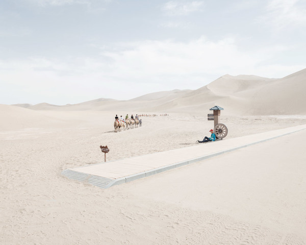 Beautiful Cogntion Photography by Bence Bakonui #china #minimal #people