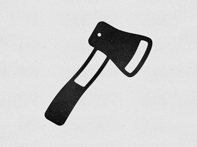 Dribbble - Axe Icon by Nicholas Petersen #vector #icon #texture #axe #logo
