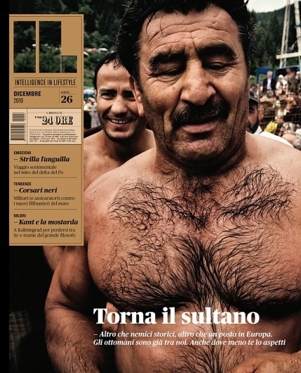 All sizes | IL 26 — Torna il sultano | Flickr - Photo Sharing! #in #lifestyle #cover #italian #magazine #intelligence