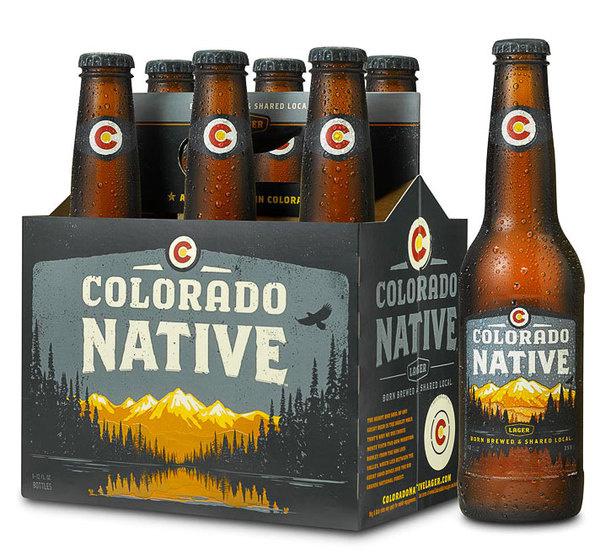 Colorado Native Lager #lake #beer #mountain #box
