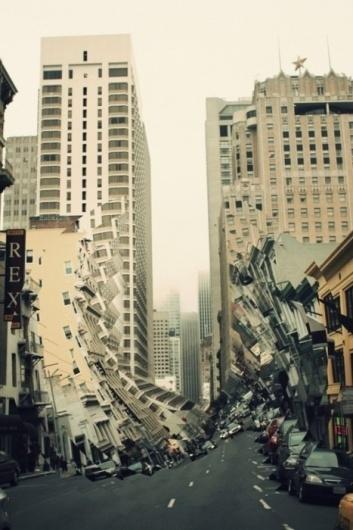 Ian Walsh Design #city #collage #glitch