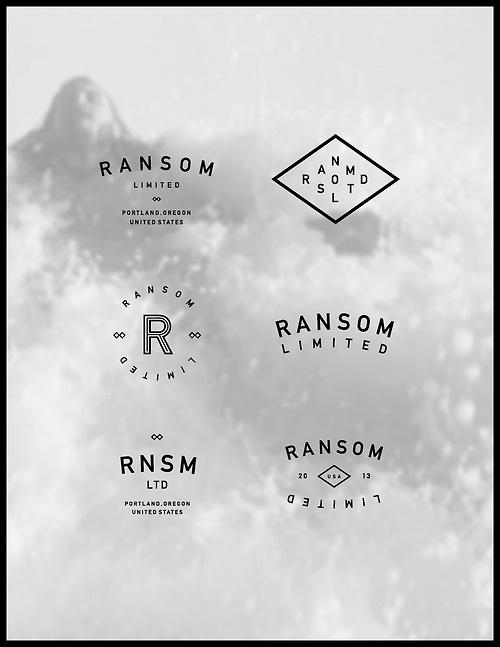 Ransom Limited #branding #icon #design #brand #logo #din