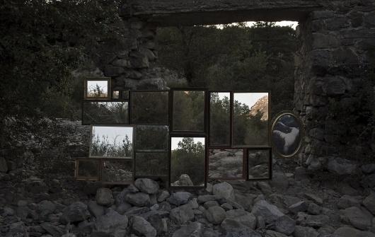 in situ : almalé bondia #photo #almale #bondia #photography #nature #art #forest #instalation