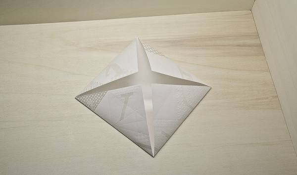Louis Vuitton – Invitation Origami on Behance #craft