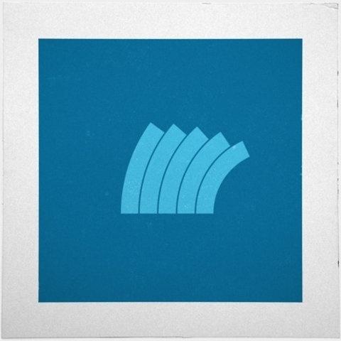 FFFFOUND! #blue #geometry