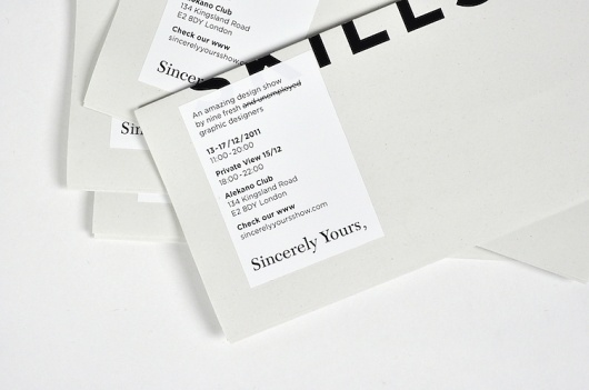 NEW! Sincerely Yours, : soleneleblanc #print