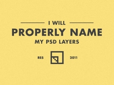 Dribbble - Resolution 2011 by Tymn Armstrong #psd #2011 #resolution