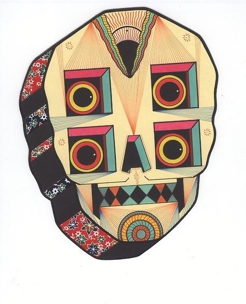DMCOOK #illustration #skull