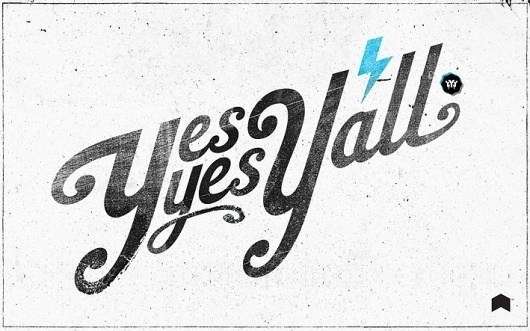 Yes Yes Y'all | Neuarmy™ #grunge #typography