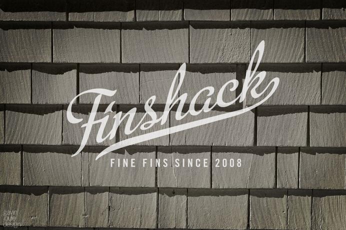 Finshack branding