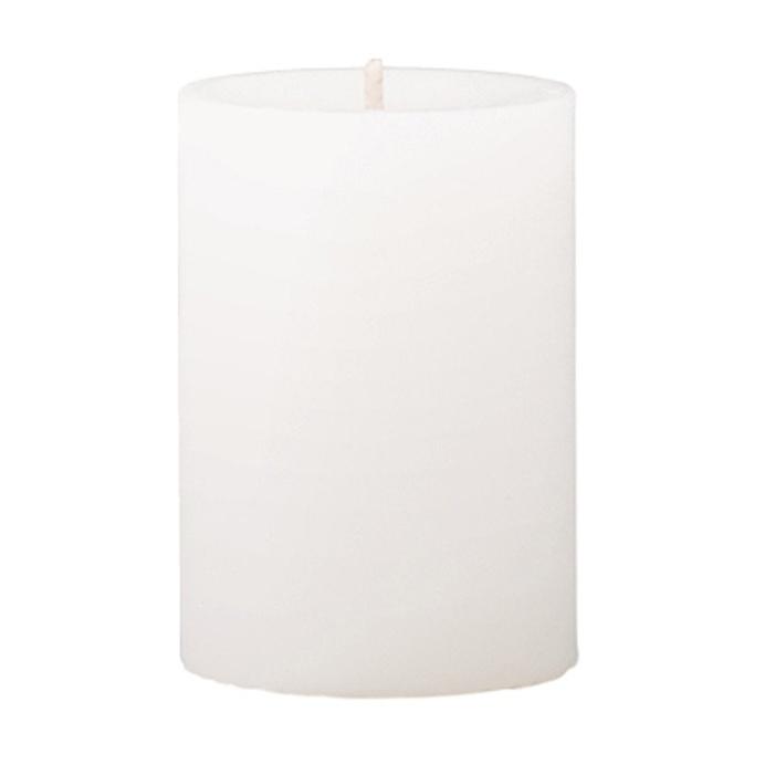 Mini Pillar Fresh Cotton & Lavender Scented Candle