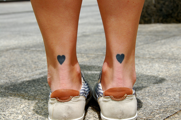Pretty Little Tattoos #tattoo #ink #black #hearts