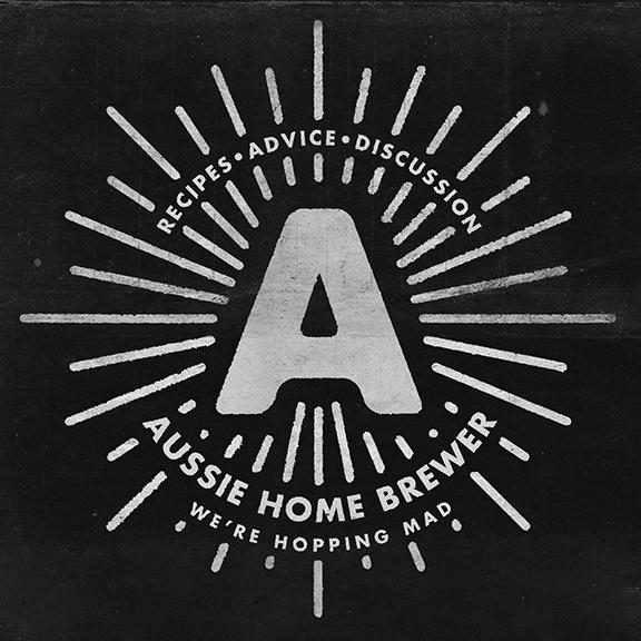 Aussie Home Brewer #home #brewing #logo #suarez #rays #ben