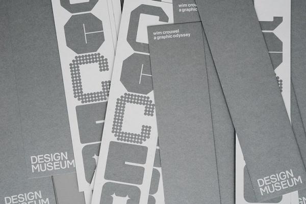 Spin Studio | Design Graphique #print #wim crouwel #design museum