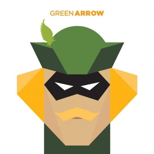 365 - Jag Nagra: Graphic Design for Print: Vancouver #superhero #illustration #arrow #comics #green