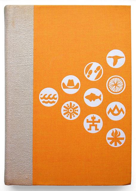 photo #fabric #screenprint #icons #book #cover